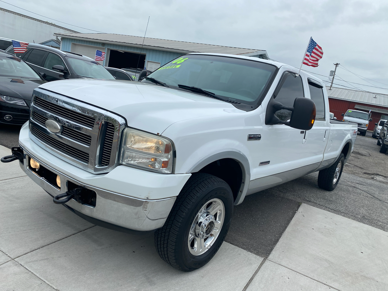Ford F-250 SD Lariat Crew Cab Long Bed 4WD 2006