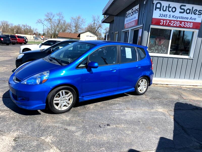 Honda Fit Sport 5-Speed MT 2007