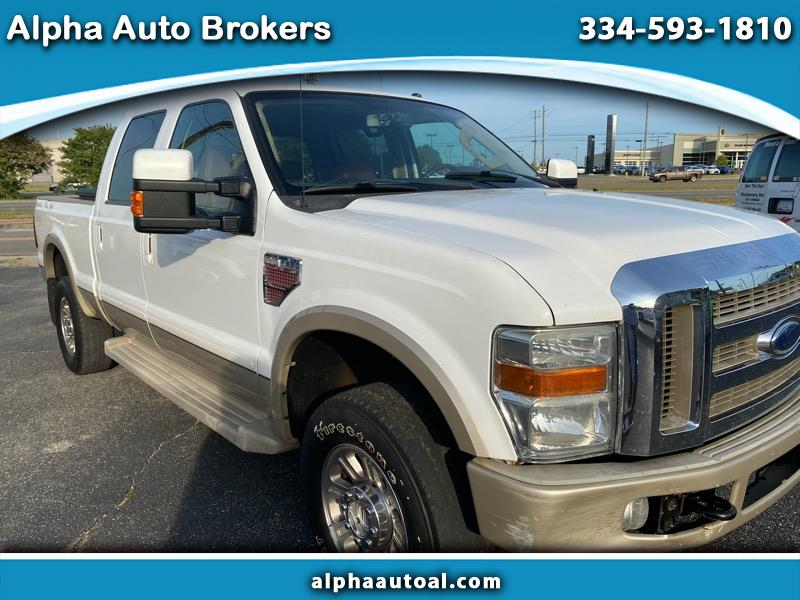 Ford F-350 SD King Ranch Crew Cab 4WD 2008
