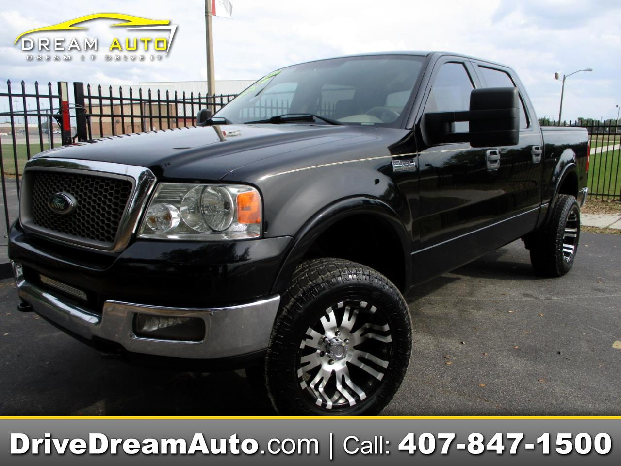 Ford F-150 Lariat SuperCrew 4WD 2005