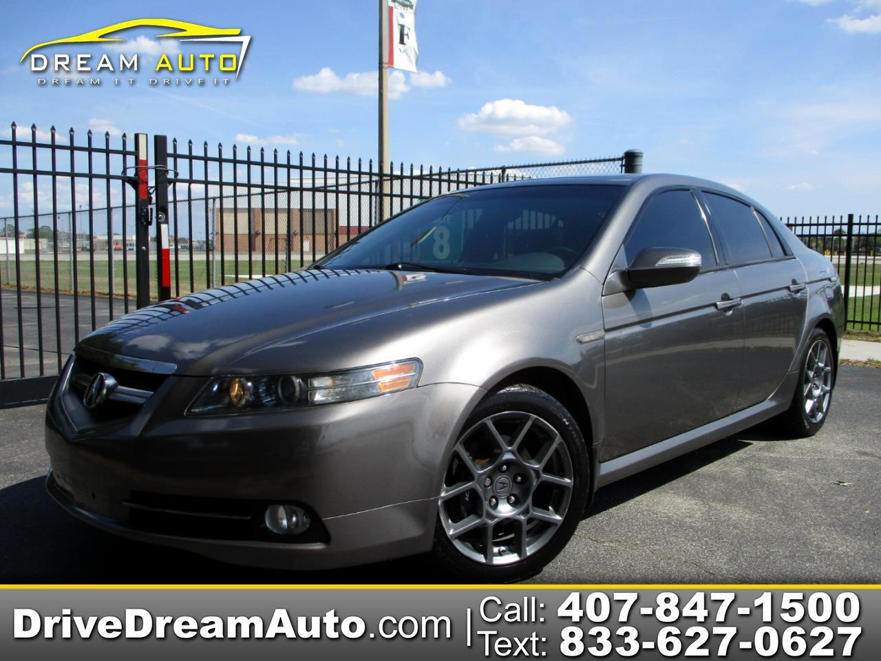 Acura TL Type-S with Navigation System 2007
