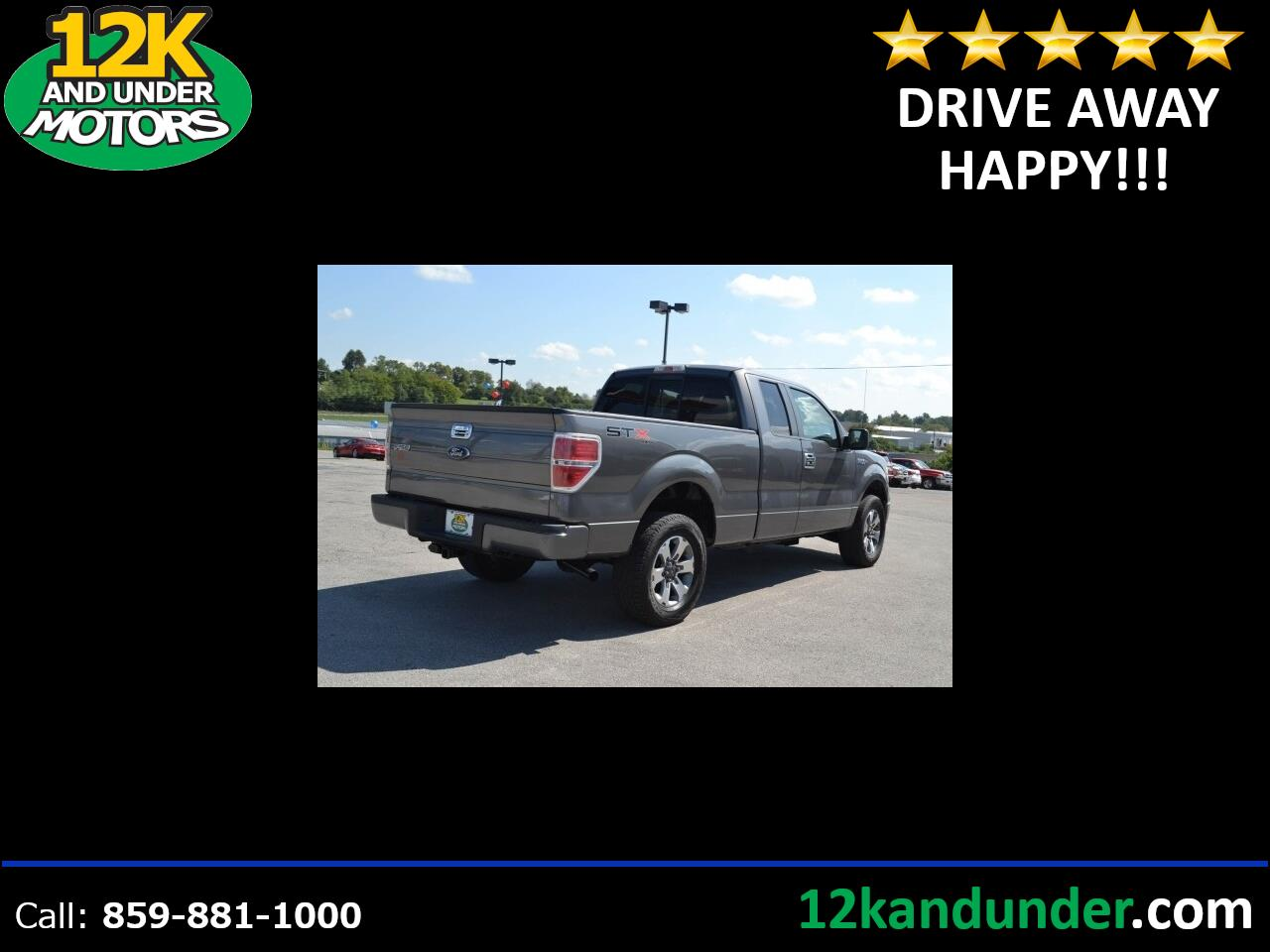 Ford F-150 XLT SuperCab 8-ft. Bed 4WD 2010
