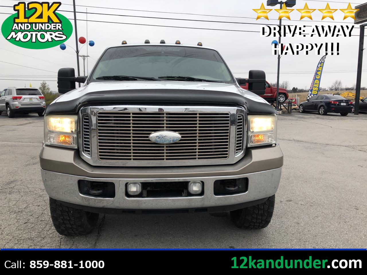 "Ford Super Duty F-350 SRW 4WD Crew Cab 156"" King Ranch 2007"