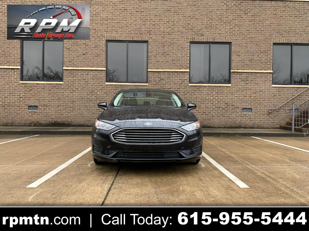 Ford Fusion 4dr Sdn I4 S 2019