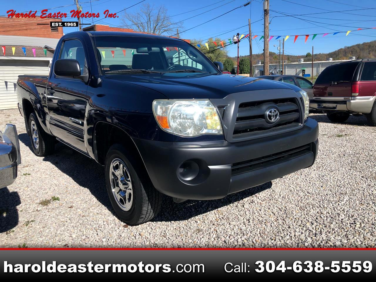 Toyota Tacoma Regular Cab I4 Manual 2WD 2005