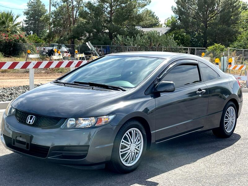 Honda Civic LX Coupe 5-Speed MT 2010