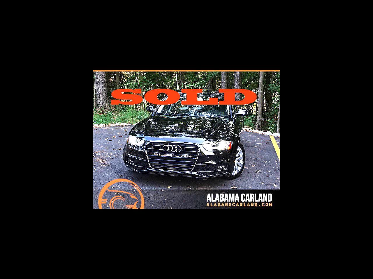 Audi A4 2.0 T Sedan FrontTrak Multitronic 2015