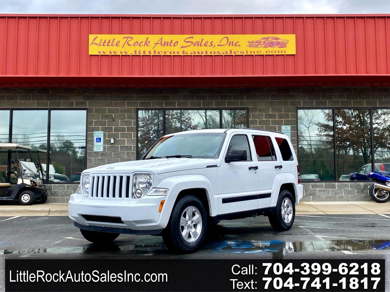 Jeep Liberty Sport 2WD 2012