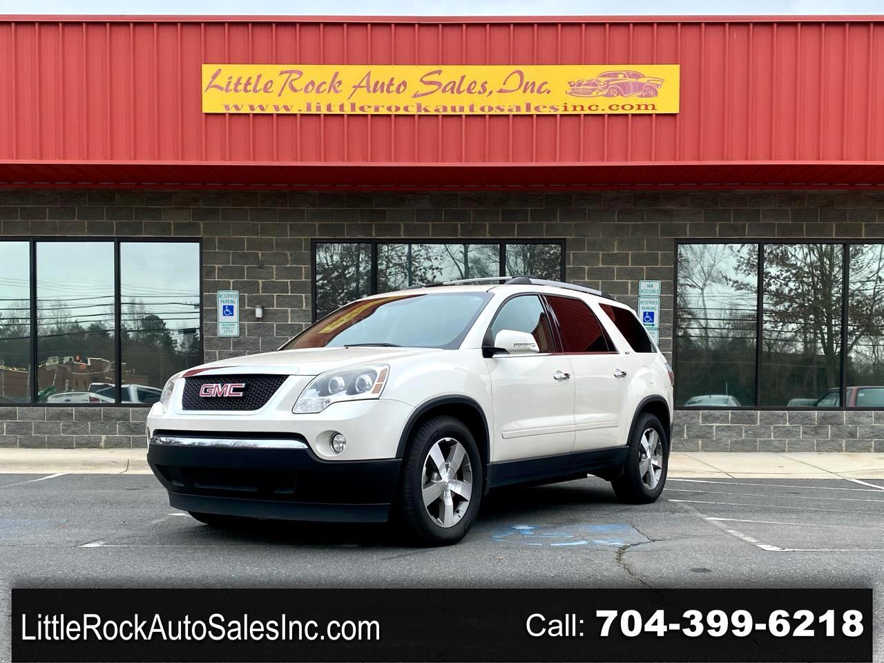GMC Acadia AWD 4dr SLT1 2012