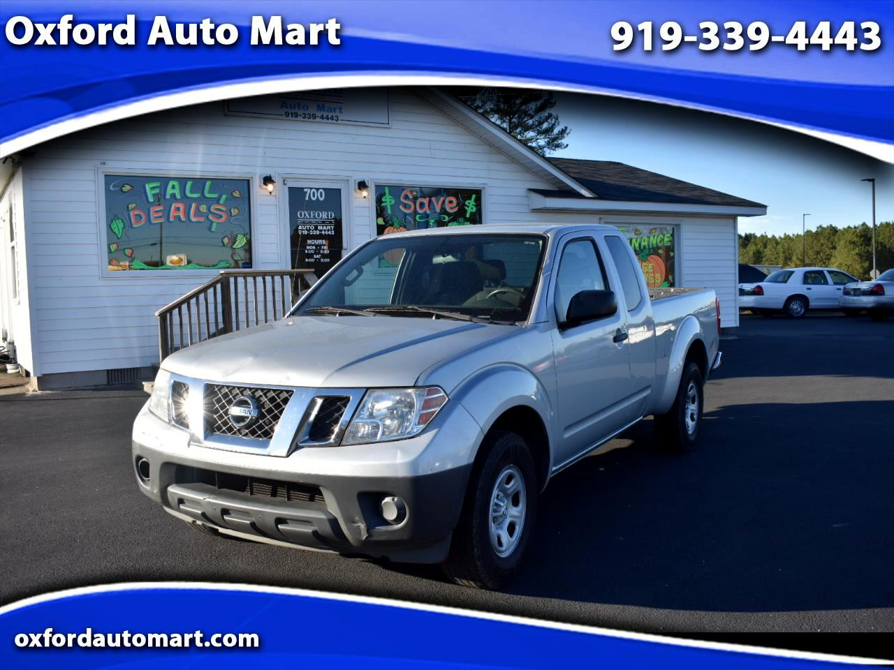 Nissan Frontier SV I4 King Cab 2WD 2012