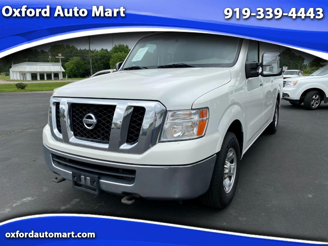 Nissan NV Cargo 3500 HD S High Roof 2012