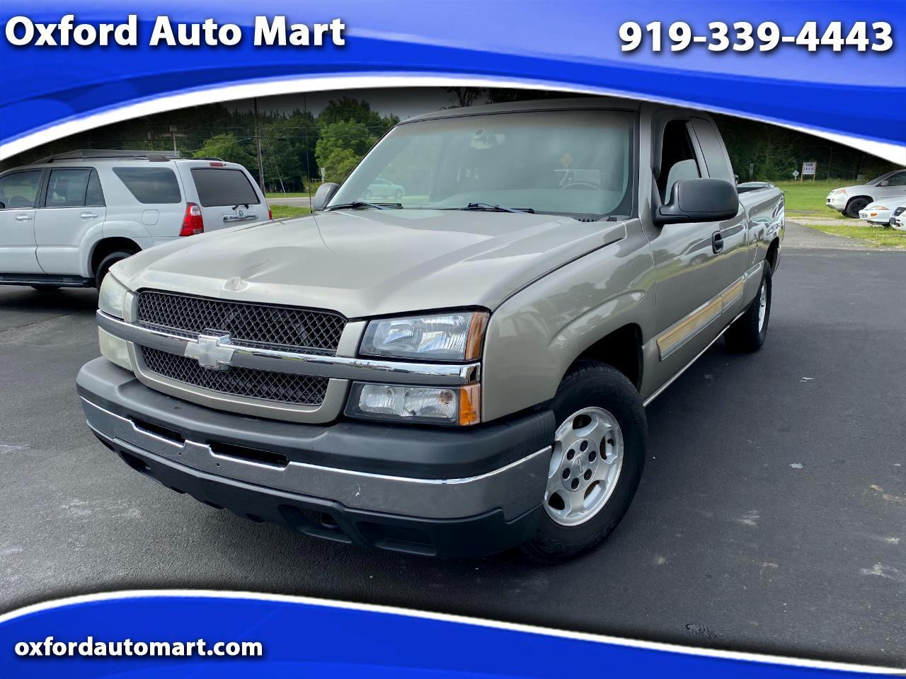 Chevrolet Silverado 1500 Ext. Cab Short Bed 2WD 2003