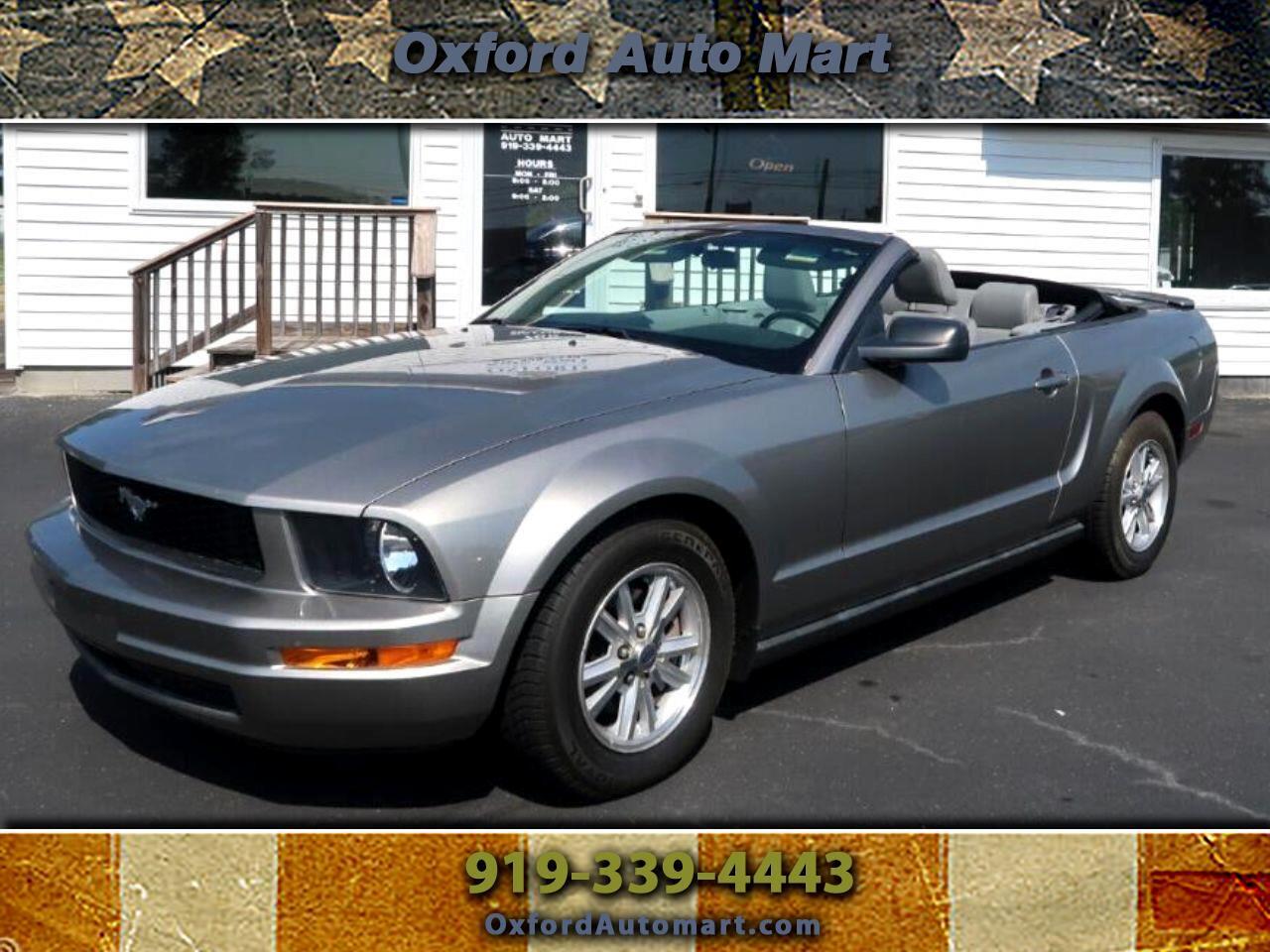Ford Mustang V6 Premium Convertible 2008