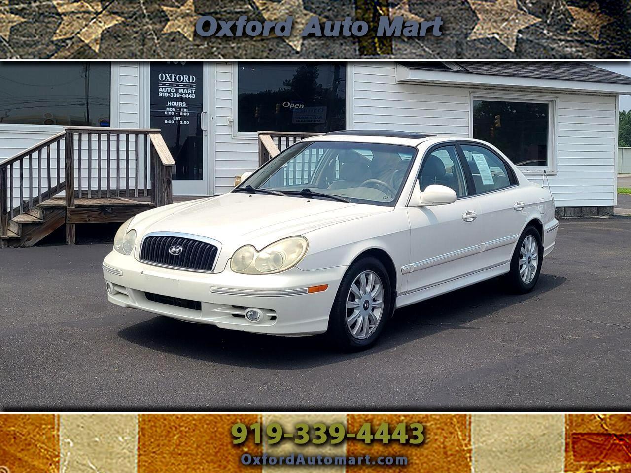 Hyundai Sonata GLS 2003