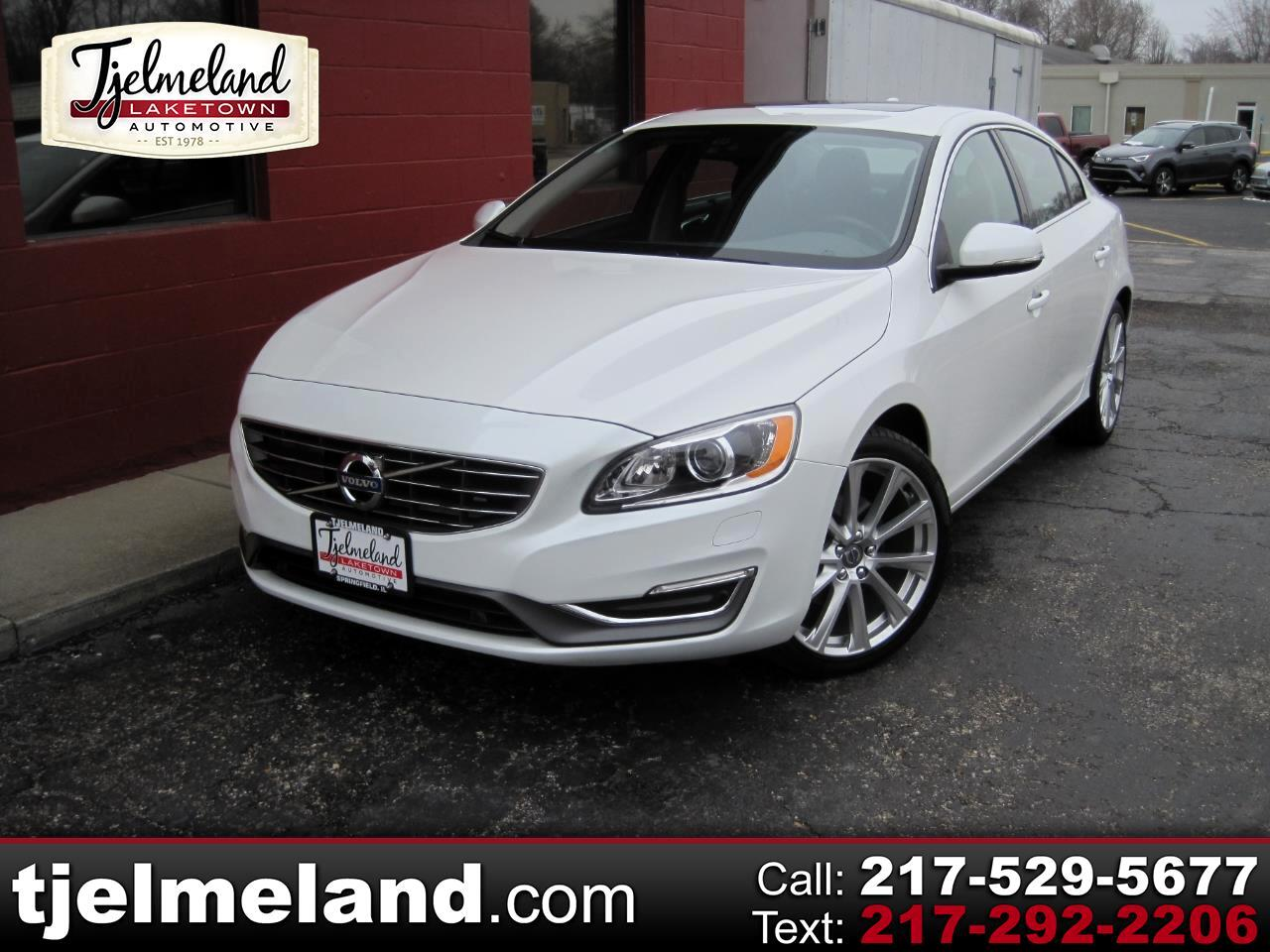 Volvo S60 Inscription 4dr Sdn T5 Drive-E Platinum FWD 2016