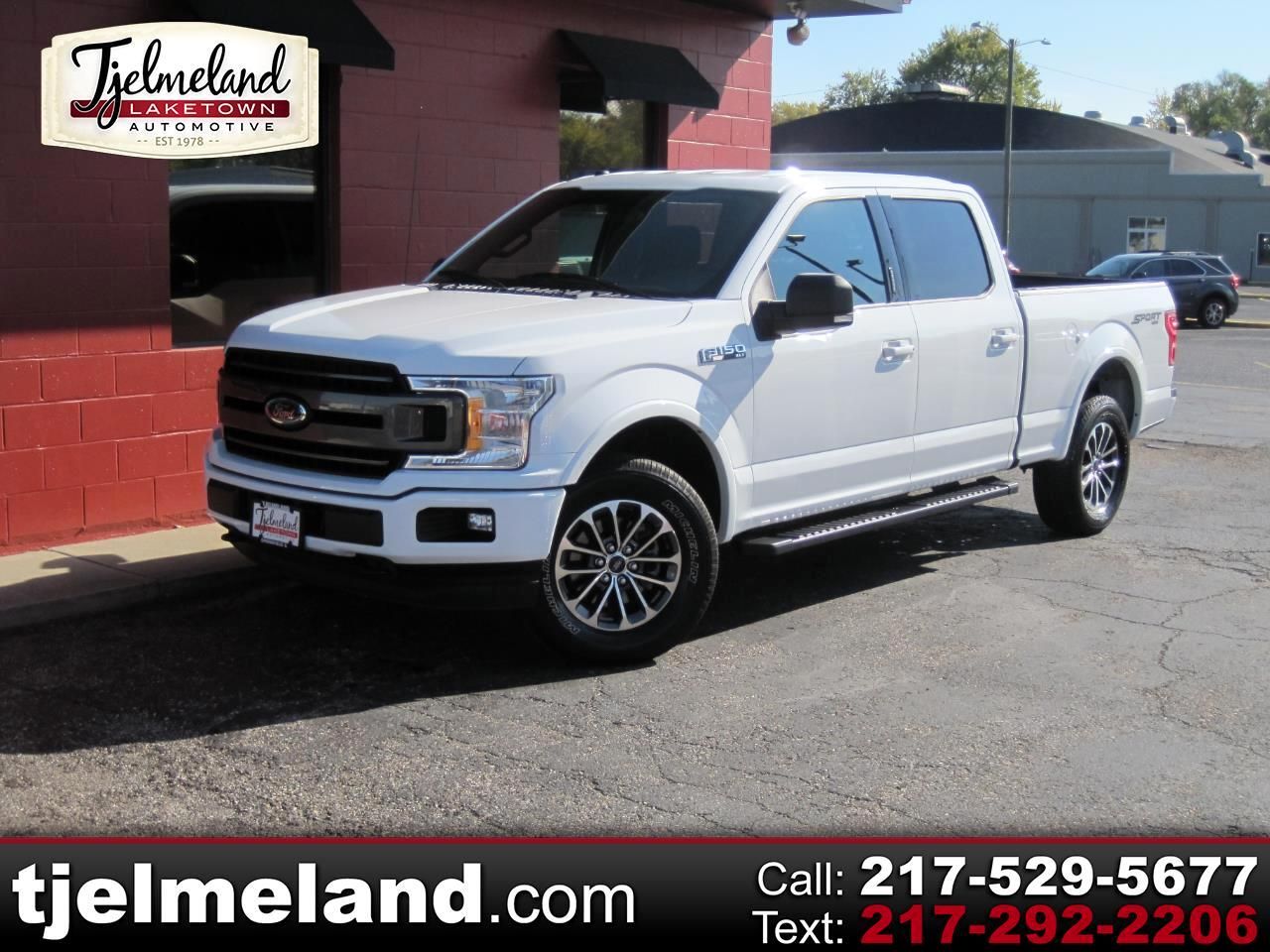 Ford F-150 XLT SuperCrew 6.5-ft. Bed Flareside 4WD 2018