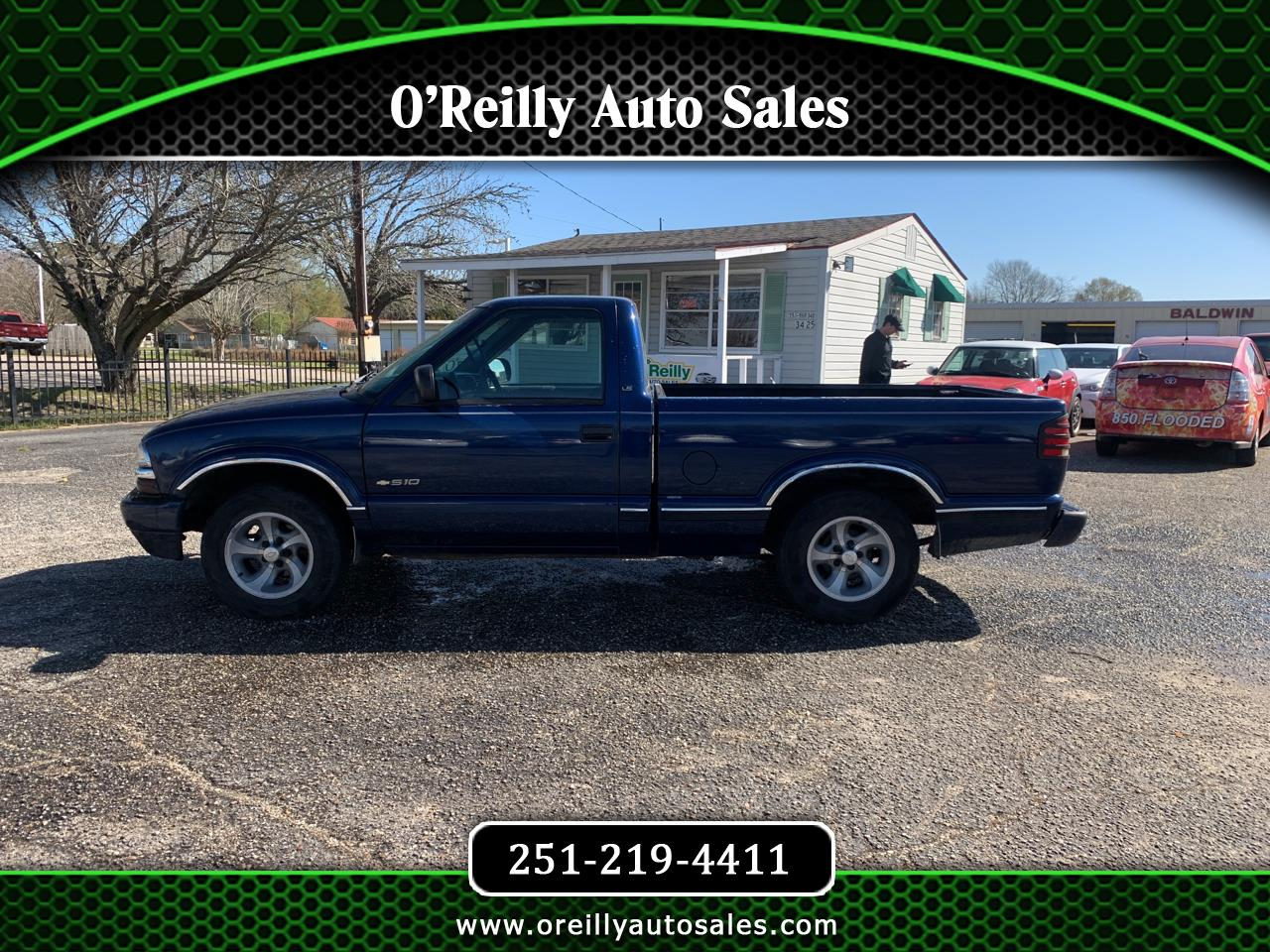 Chevrolet S10 Pickup Long Bed 2WD 1999