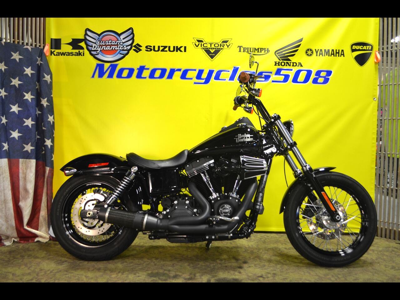 Harley-Davidson Dyna Street Bob  2017