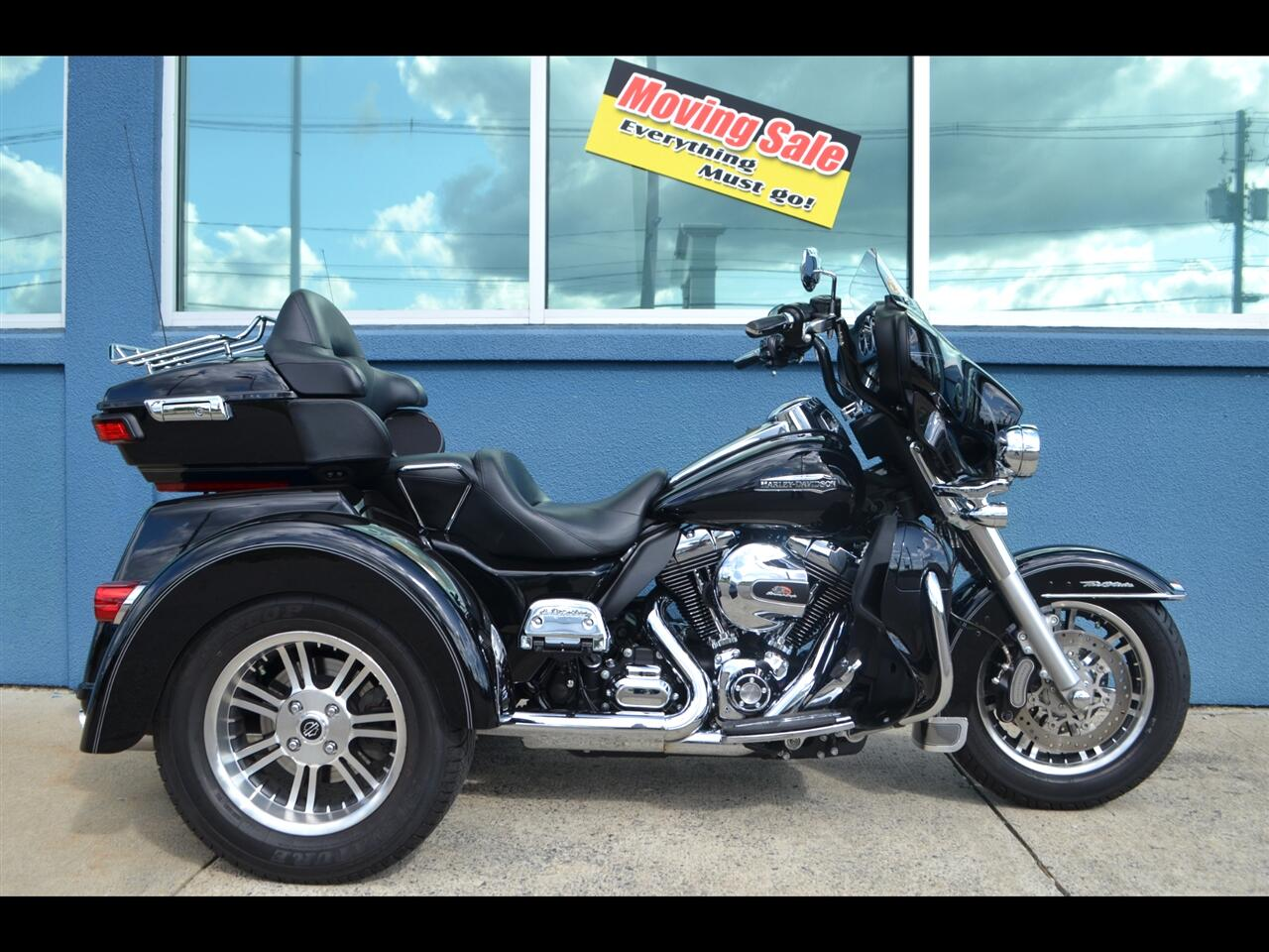 Harley-Davidson Tri Glide Ultra Classic  2014