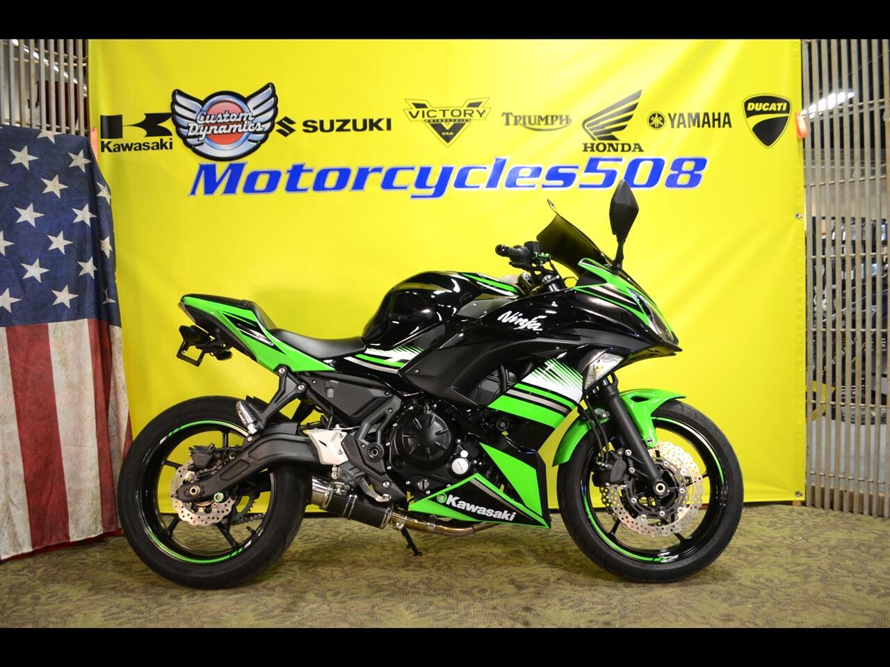 Kawasaki Ninja 650R  2017