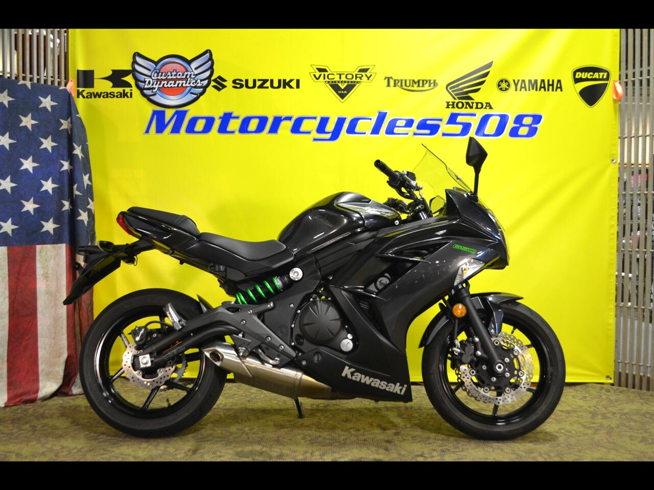 Kawasaki Ninja 650R  2016