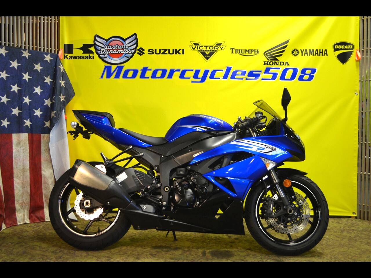 Kawasaki ZX600-C  2011
