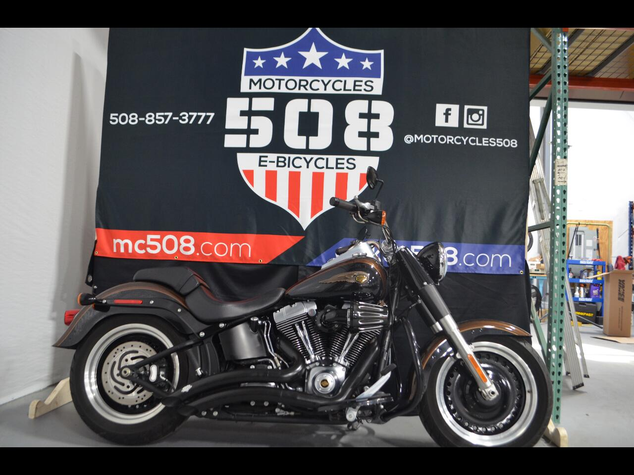 Harley-Davidson Fatboy Lo  2013