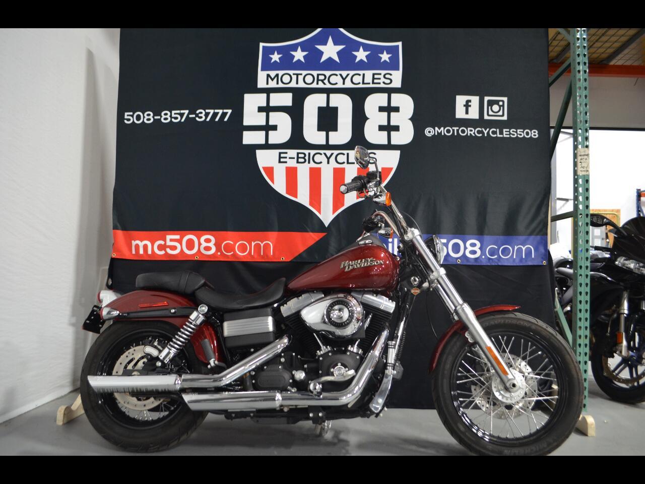 Harley-Davidson Dyna Street Bob  2010