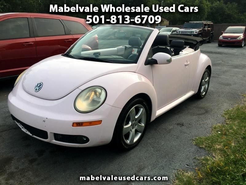 Volkswagen New Beetle 2.5L Convertible 2007