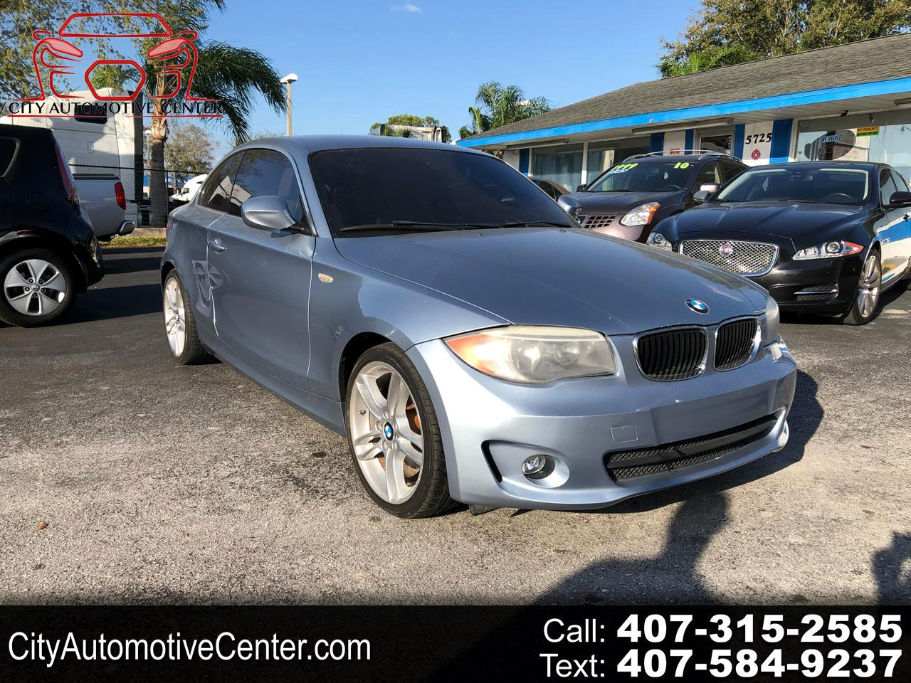 BMW 1-Series 128i Coupe 2012