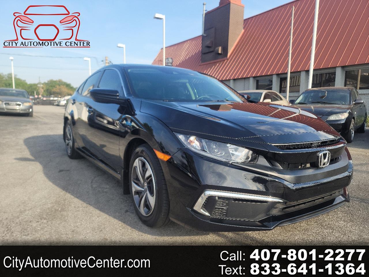 Honda Civic LX Sedan 6MT 2020