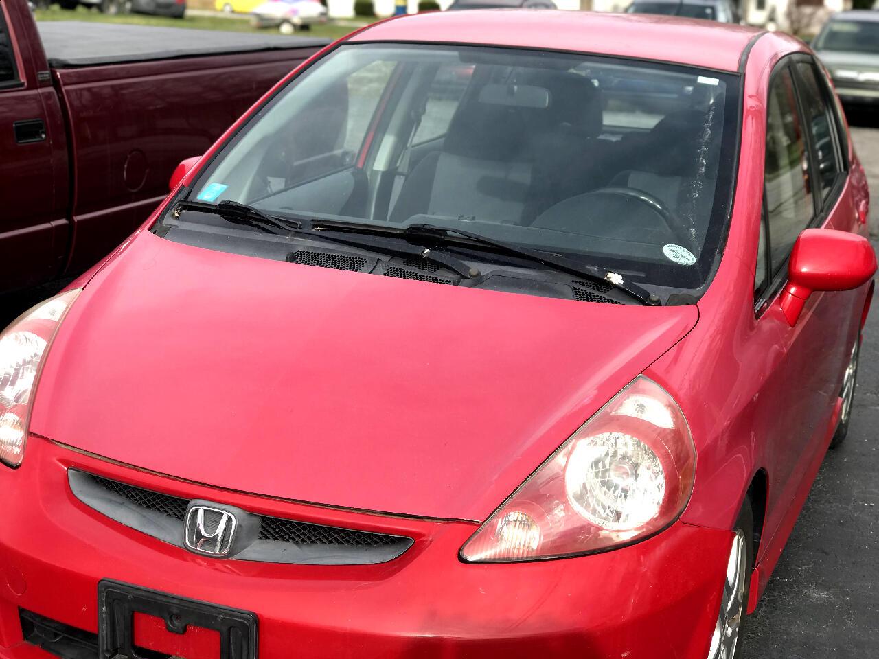 Honda Fit Sport 5-Speed MT 2008
