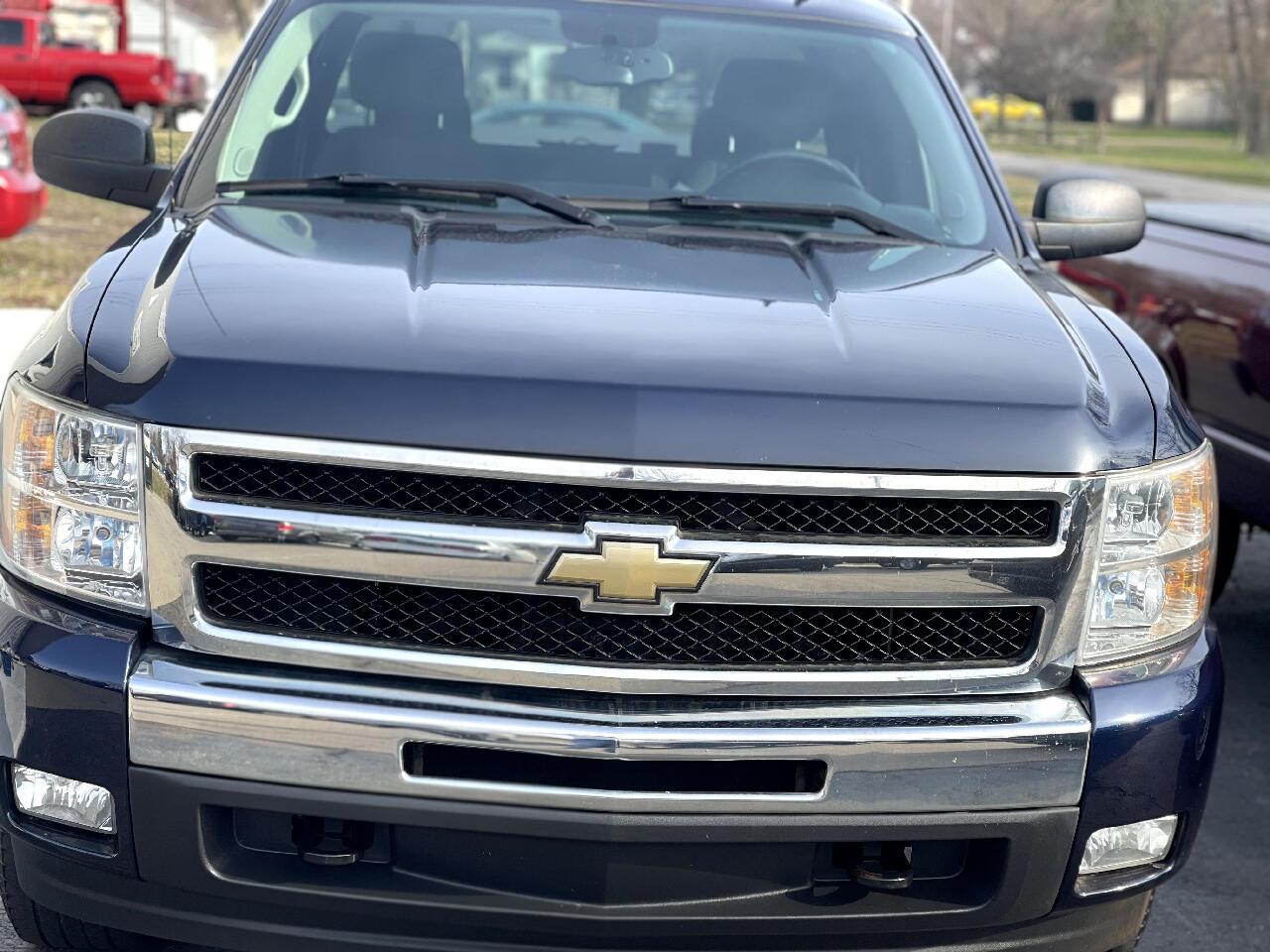 Chevrolet Silverado 1500 LT Ext. Cab 4WD 2011