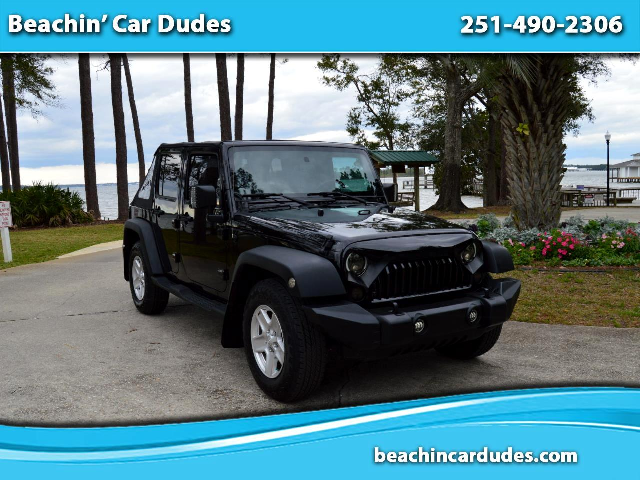 Jeep Wrangler Unlimited Sport RWD 2010