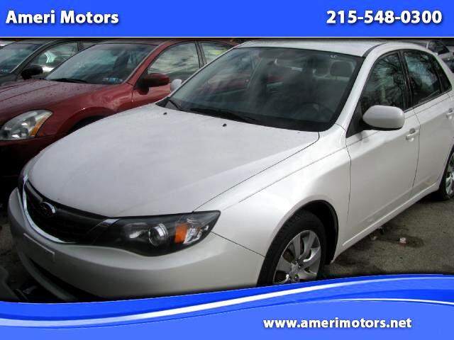 Subaru Impreza 2.5i 4-Door 2009