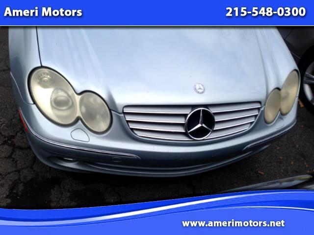 2005 Mercedes-Benz CLK-Class CLK320 Coupe