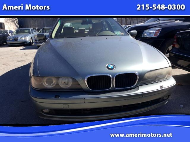 Peachy Used 2002 Bmw 5 Series 525I For Sale In Philadelphia Pa Pabps2019 Chair Design Images Pabps2019Com
