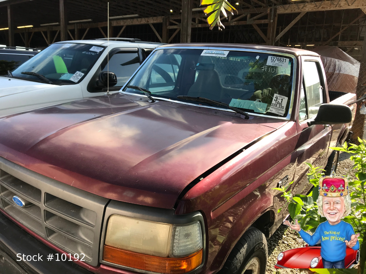 Ford F-150 Special Reg. Cab Short Bed 2WD 1996