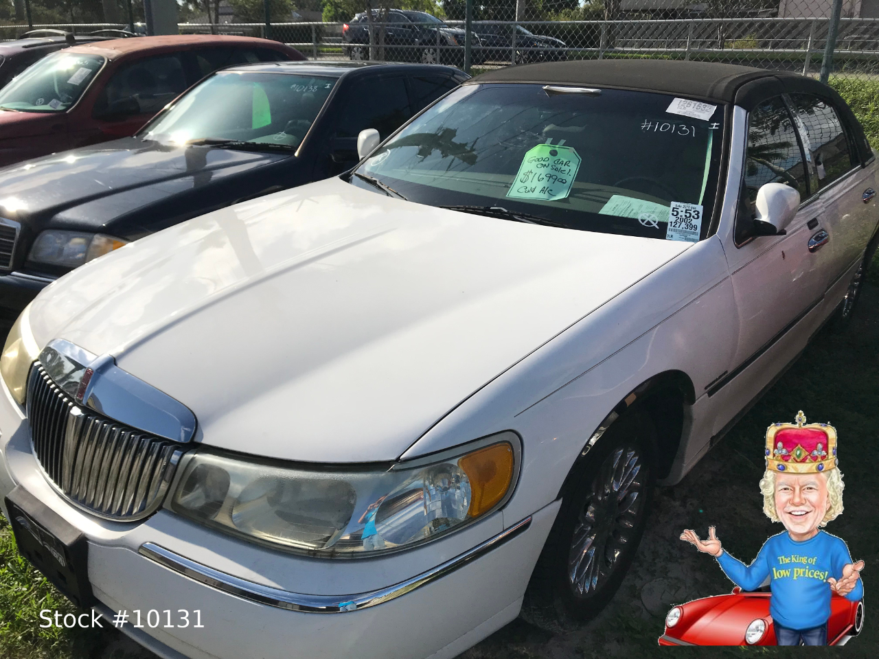 Lincoln Town Car Executive 2002