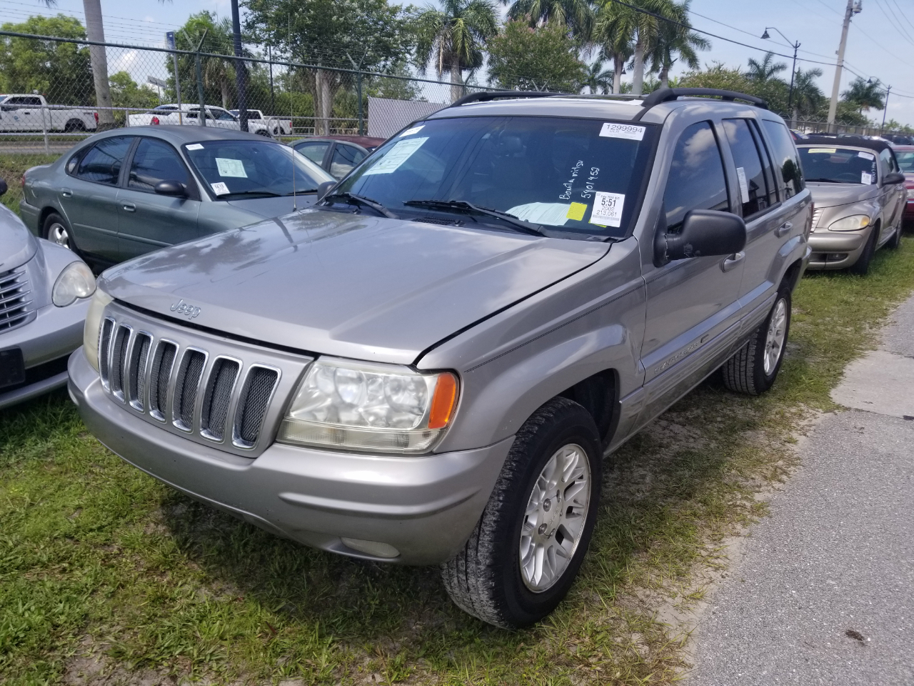 Jeep Grand Cherokee Limited 2WD 2002