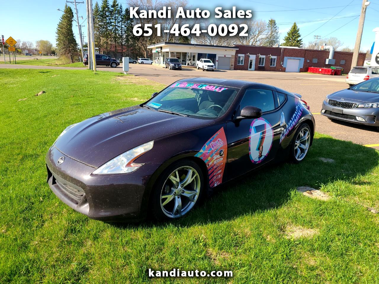 Nissan Z 370Z Coupe Sport Tech 6MT 2012