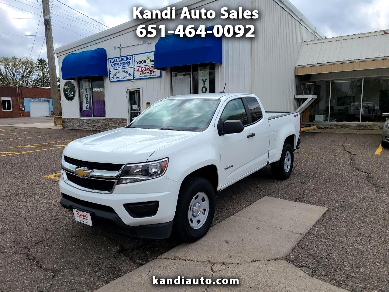 Chevrolet Colorado WT Ext. Cab 4WD 2015