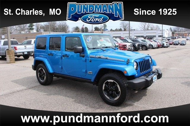 Jeep Wrangler Unlimited Unlimited Sahara 4WD 2014