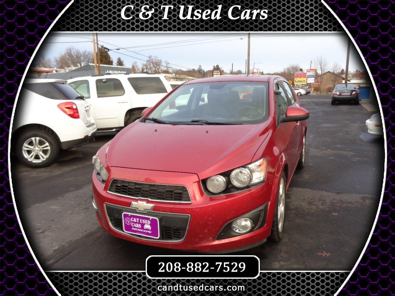 Chevrolet Sonic LTZ 5-Door 2012