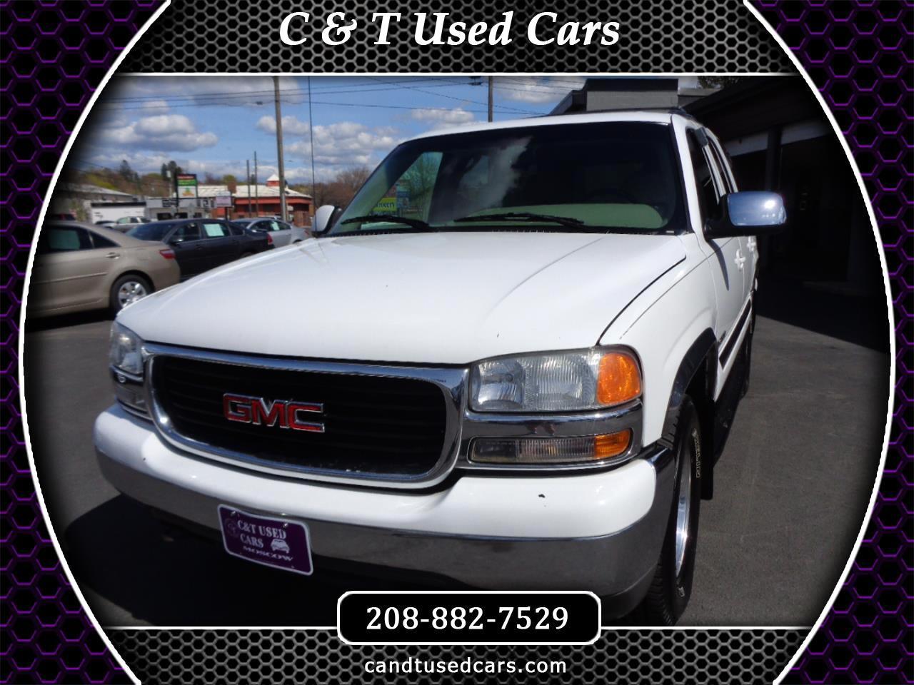 GMC Yukon SLE 4WD 2001