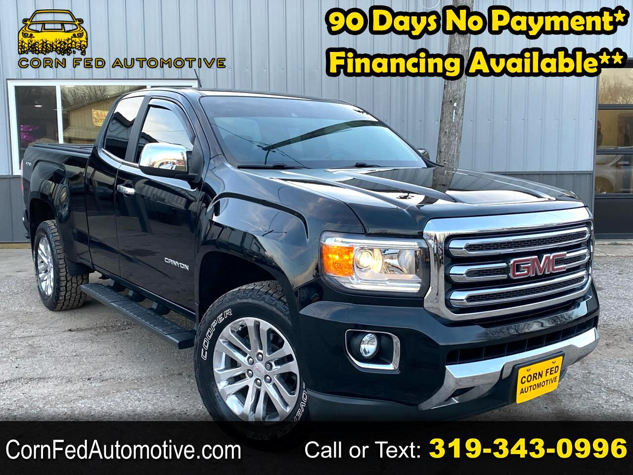 "GMC Canyon 4WD Ext Cab 128.3"" SLT 2015"