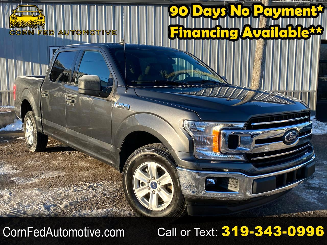 "Ford F-150 2WD SuperCrew 145"" XLT 2020"