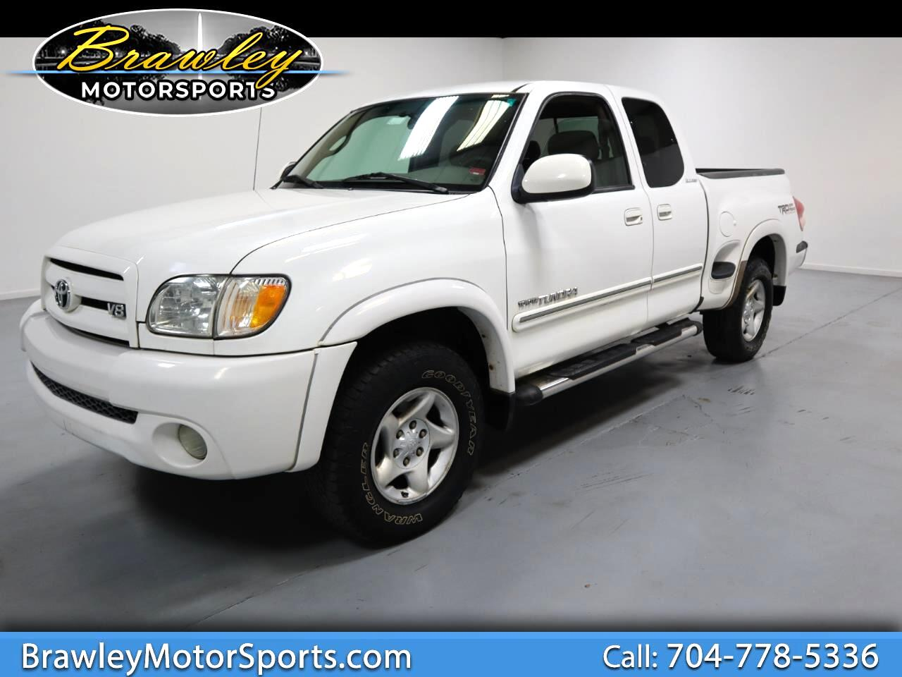 Toyota Tundra Limited Stepside Access Cab 4WD 2003