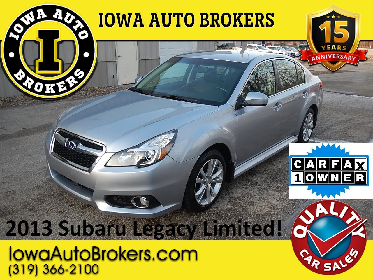 Subaru Legacy 2.5 GT Limited 30th Anniv. Edition 2013