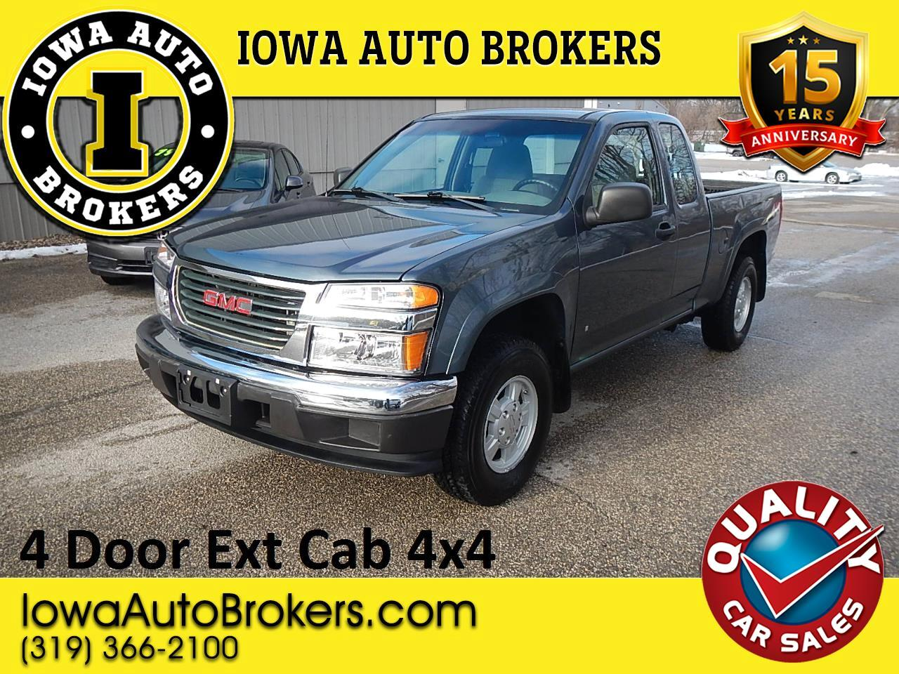 "GMC Canyon 4WD Ext Cab 125.9"" SLE w/1SD 2007"